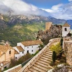 Holidays to GUADALEST Spain