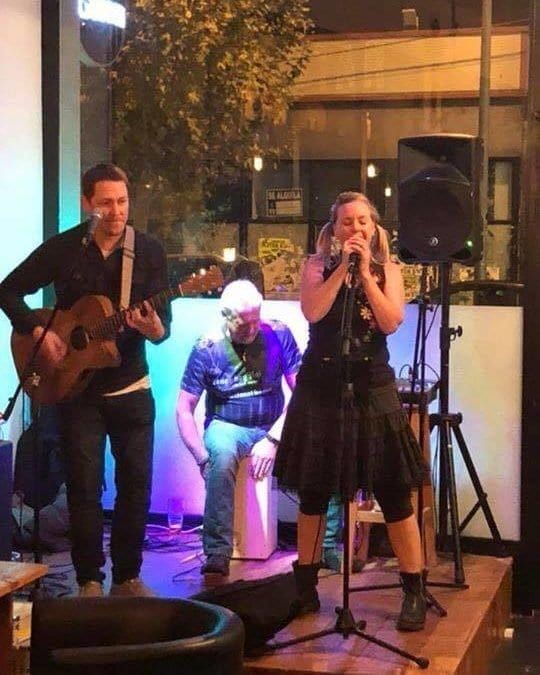 Knot Again- bringing you live music this Saturday