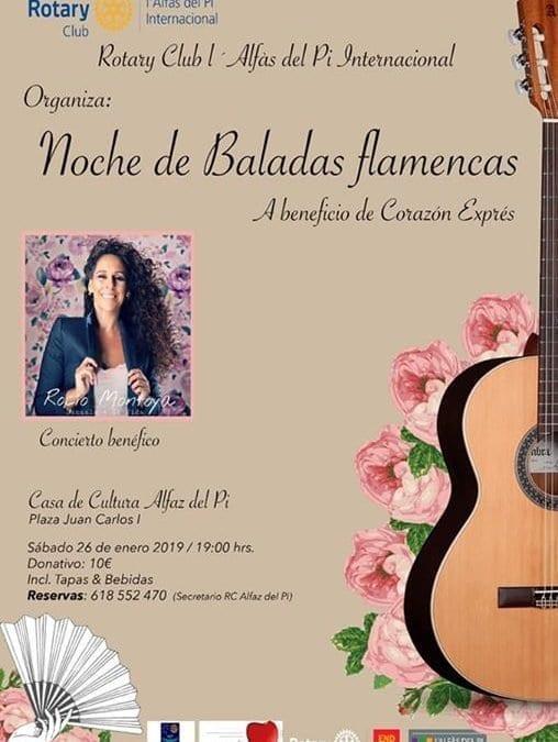 Noche de Baladas Flamencas