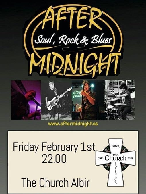 Bringing you Soul, Rock & Blues this Friday night