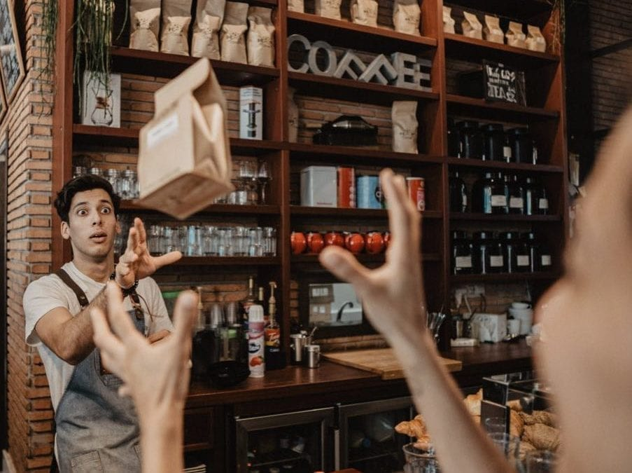 """De Origin – kaffespesialist med """"chic"""" innredning"""