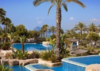 Hotel Villa Gadea pool