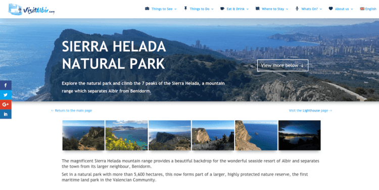 New Albir tourism website launches