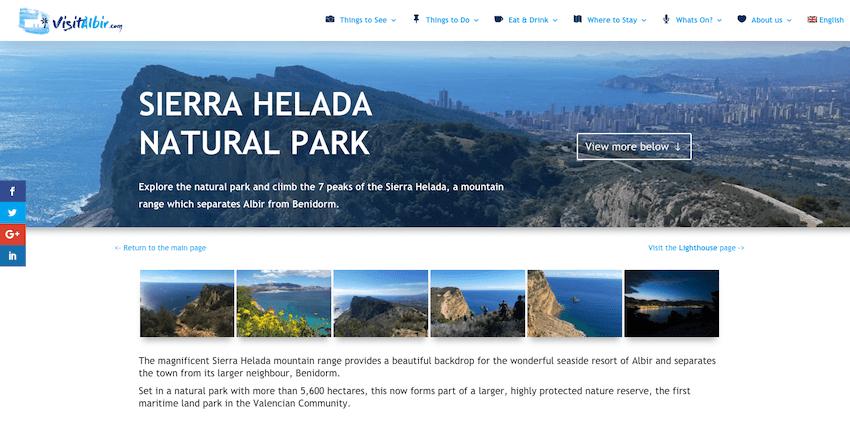 Ny Albir turist webside lanseres!