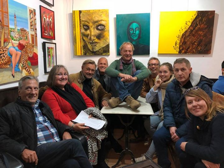 """Art Talk"" con Hans Petter Fjugstad y sus alumnos"