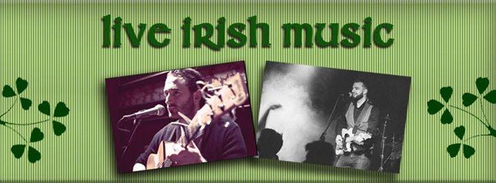 Irish Live Music on Wednesday night at 8.30 pm