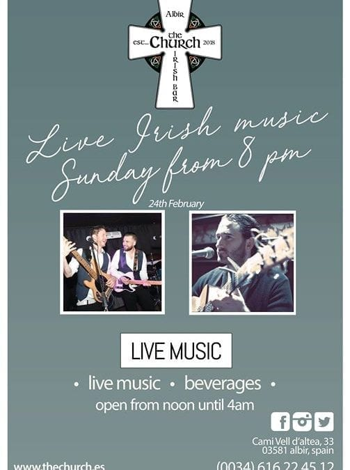 Live Music Session this Sunday