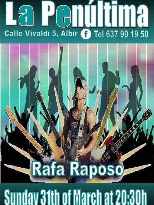 Rafa Live In La Penúltima