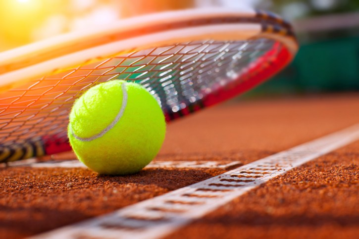 Free group tennis lesson