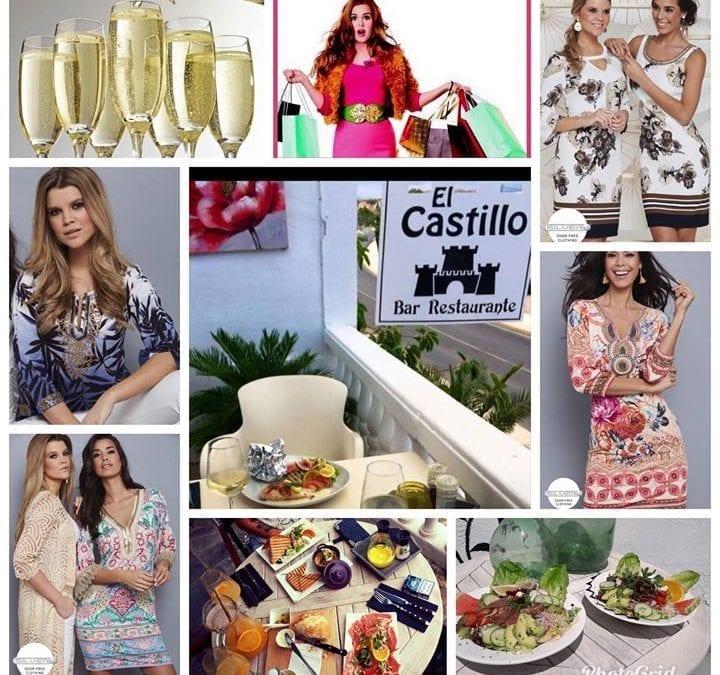 Fabulous lunch and Fashionshow