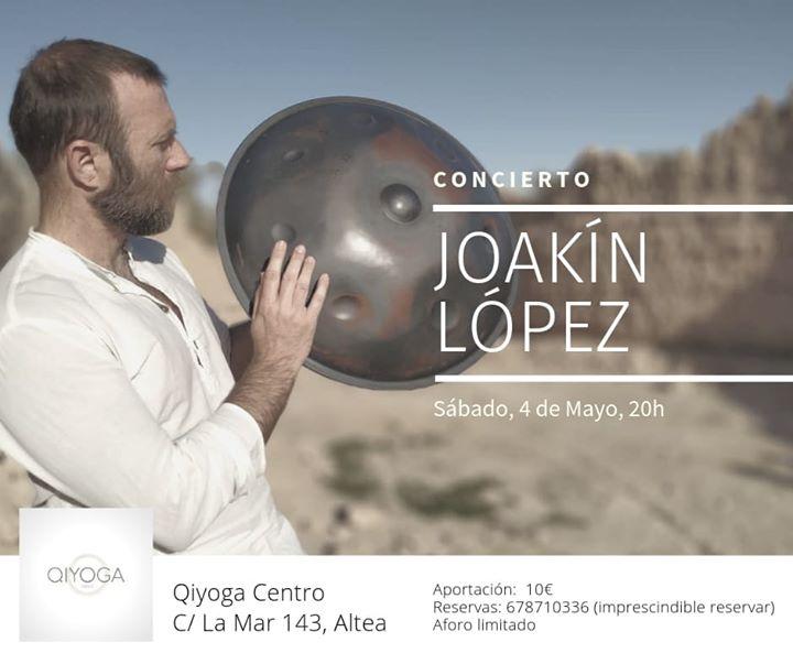 Joakín López en Concierto