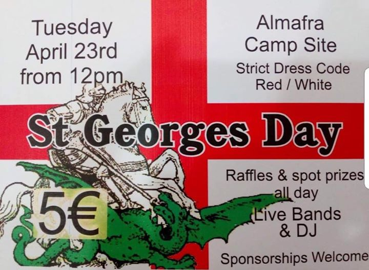 St George's Day fundraiser