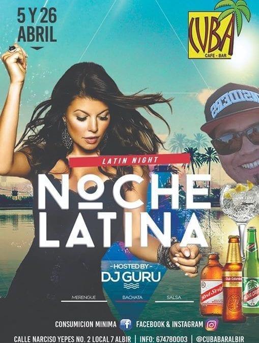 Noche LATINA con DJ GuRu
