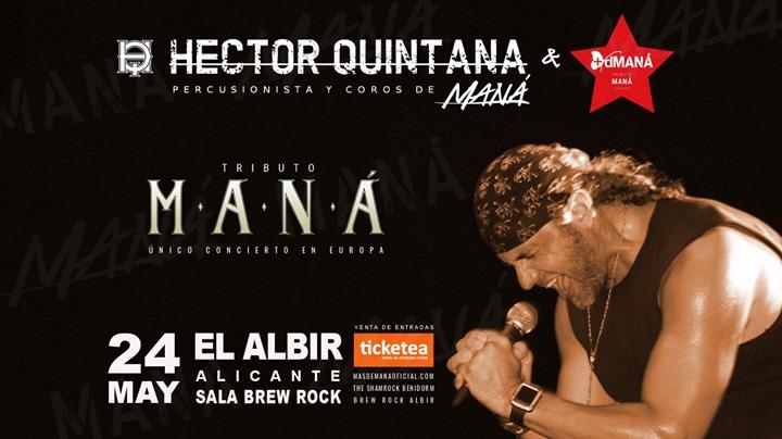 Gran Tributo a MANÁ en El Albir con Héctor Quintana