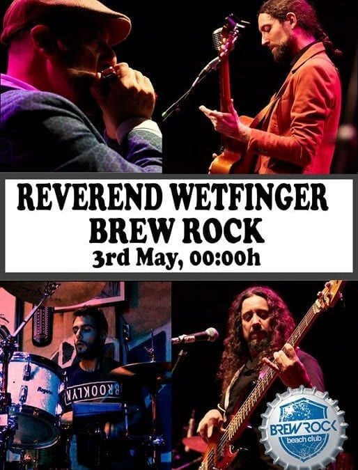 Reverend Wetfinger in Brew Rock, Altea