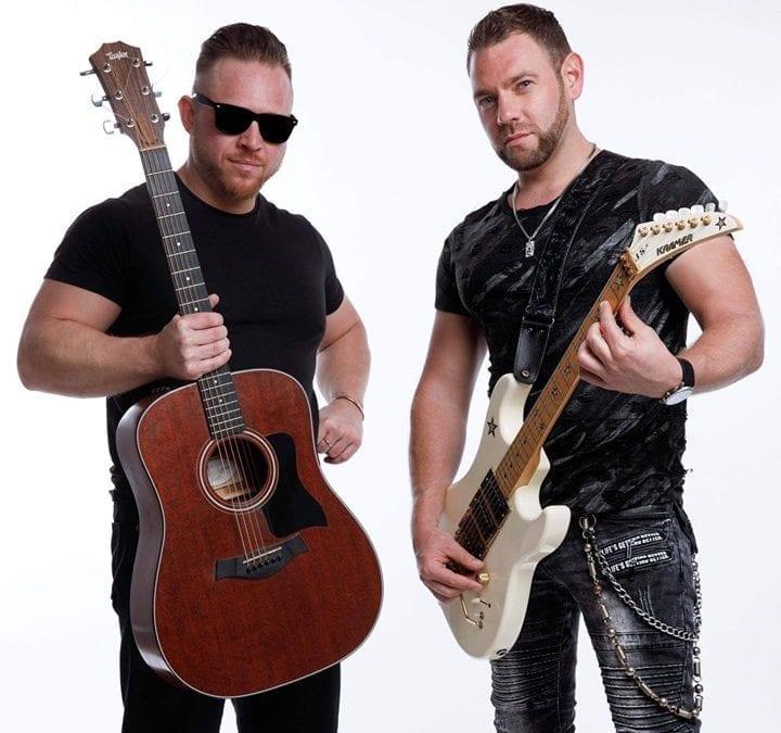 Bash & Rob Richards Duo- Sunday at 6pm