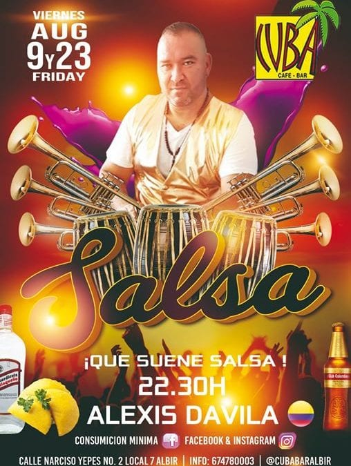 LIVE MUSIC c/ ALEXIS DAVILA