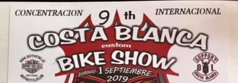 9th Costa Blanca Custom bike Show 2019