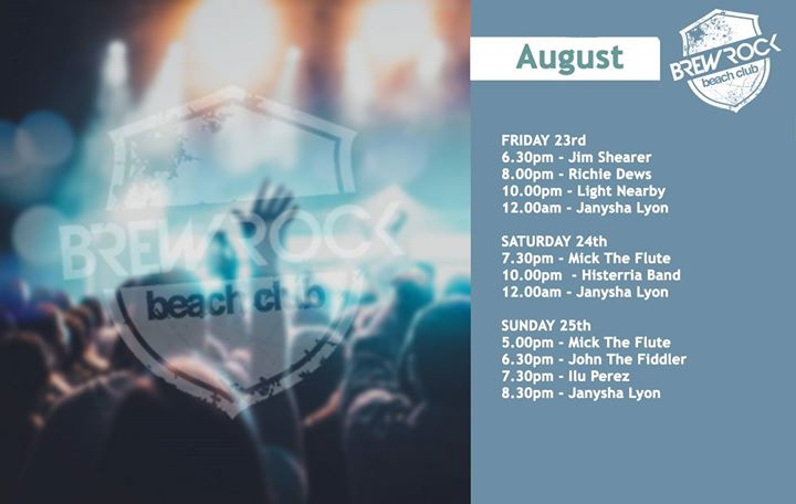 Weekend Live Music Line-up