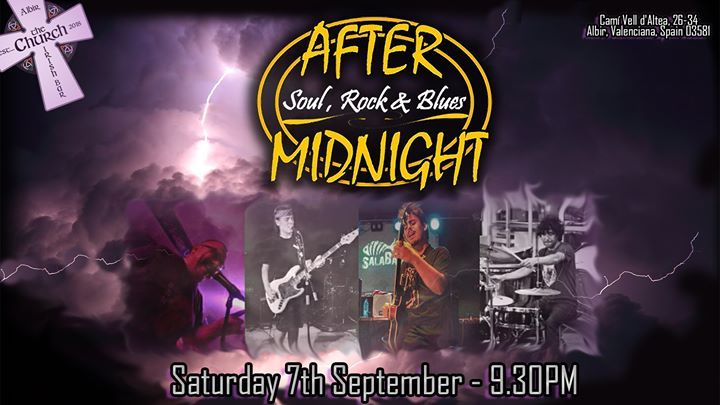 After Midnight – Soul, Rock & Blues!