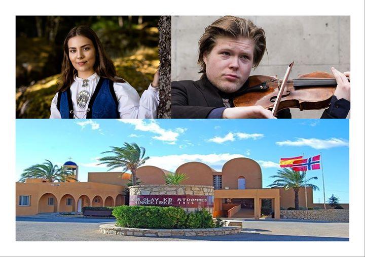 Konsert med unge norske og spanske prisvinnere