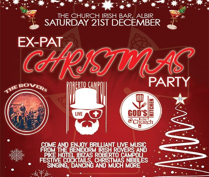Ex-Pat Christmas Party!