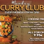 Mondays Curry Club!