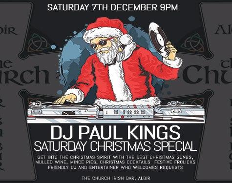 DJ Paul Kings Saturday Christmas Special