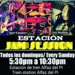 Jam  Session – La Estación Del Mar Bar de Copas