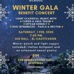 Winter Gala Benefit Concert/Gala de Invierno Concierto Benéfico